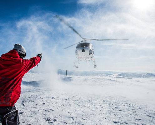 Heli Skiing Shiribetsu Dake