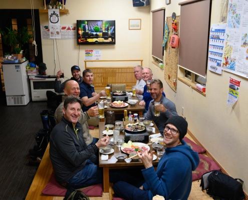 Dinner at Restaurant Ten
