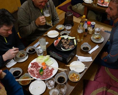 Japanese BBQ for dinner