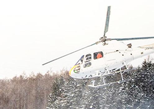 Helicopter, Heli Skiing Japan