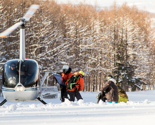 Heli Skiing Japan