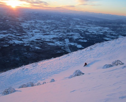 Mt Yotei Backcountry Skiing